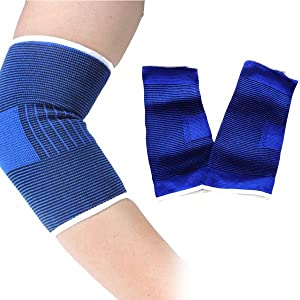 lastic Elbow Support Gaurd Pain Relief