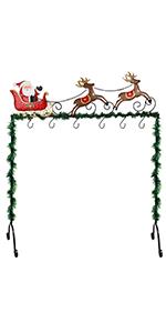 Metal Stand Christmas Stocking Holder