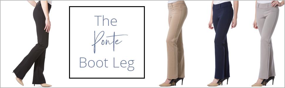 boot cut pants for women