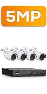 5MP POE Camera System