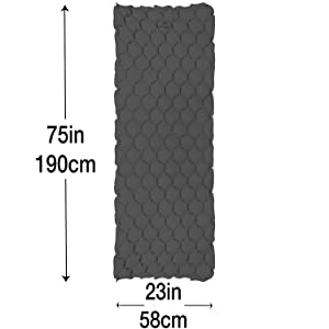 Sleeping mat for camping, inflatable sleeping pad, inflatable sleeping mat, portable sleeping pad,