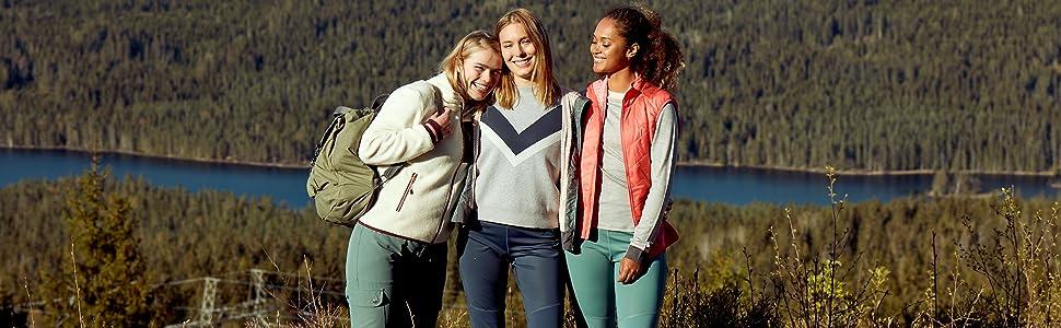 Hiking Girls