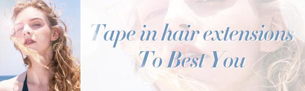 LaaVoo tape human hair