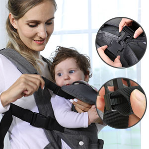 Convertible baby carrier