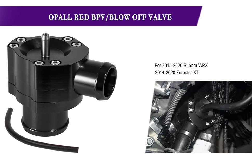 BPV/Blow Off Valve For 2015-2020 Subaru WRX 2014-2020 Forester XT ...