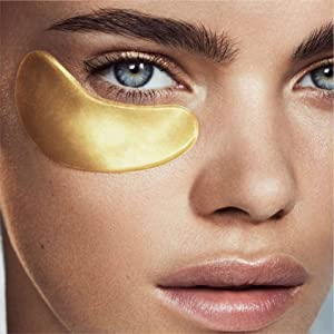 Doppeltree gold eye mask