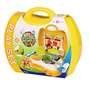 Cooking Set For Girls; ice cream cart toys for toddlers; fruits & vegetables toys for kids big size