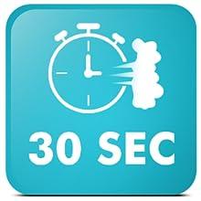30s fast heat-up
