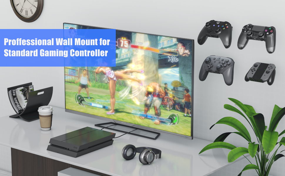 controller wall mount 6 pack xbox one sereies x s ps4 ps5 ps3 playstation 4 5
