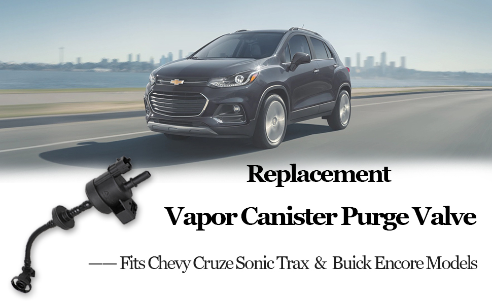 CRUZE LIMITED 2016,SONIC 2012-2020,TRAX 2013-2020 CHEVROLET CHEVY CRUZE 2012-2015 CENTAURUS 55573017 55576071 PV704 Vapor Canister Purge Valve//Solenoid Compatible with BUICK ENCORE 2013-2020
