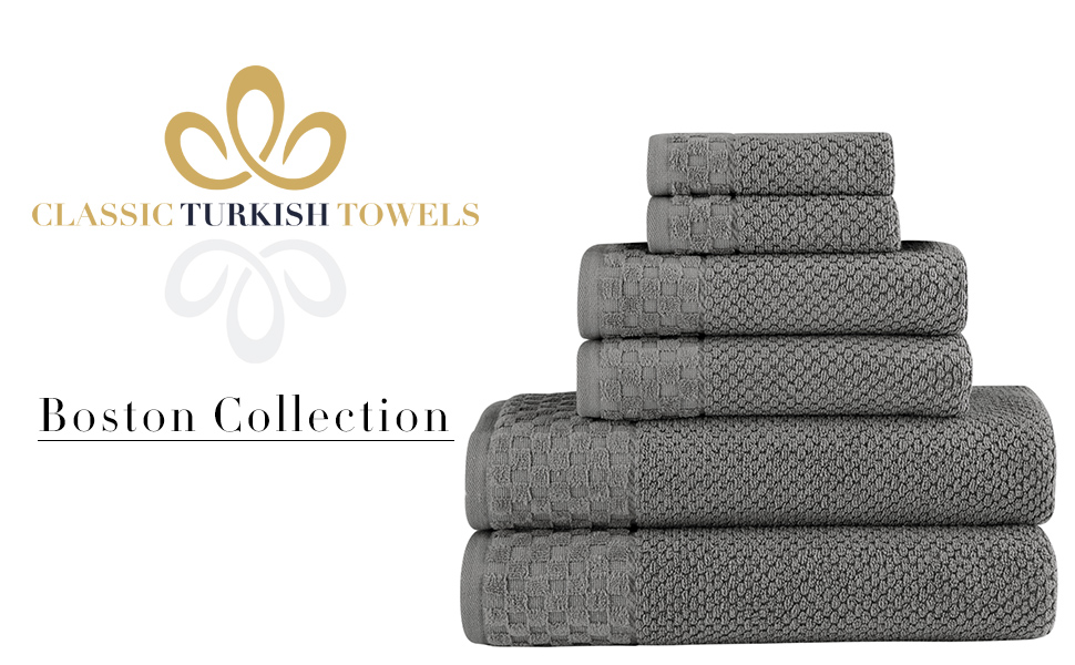 Boston Towel Set
