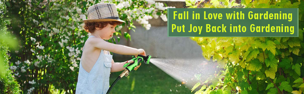 FALL IN LOVE WITH GARDENING