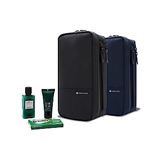 PureVave Toiletry bag, black, navy blue
