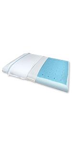 Super slim max cool pillow
