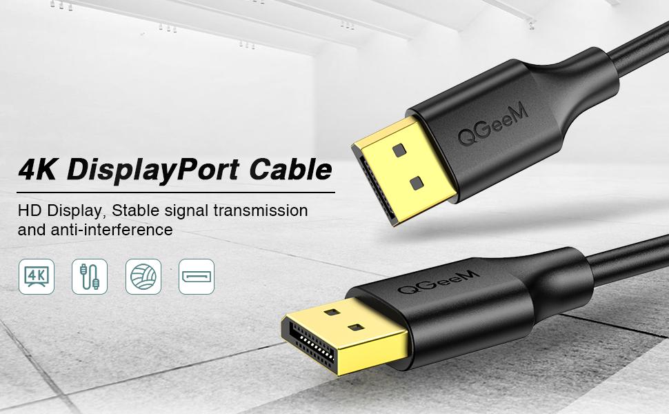 1displayport cable