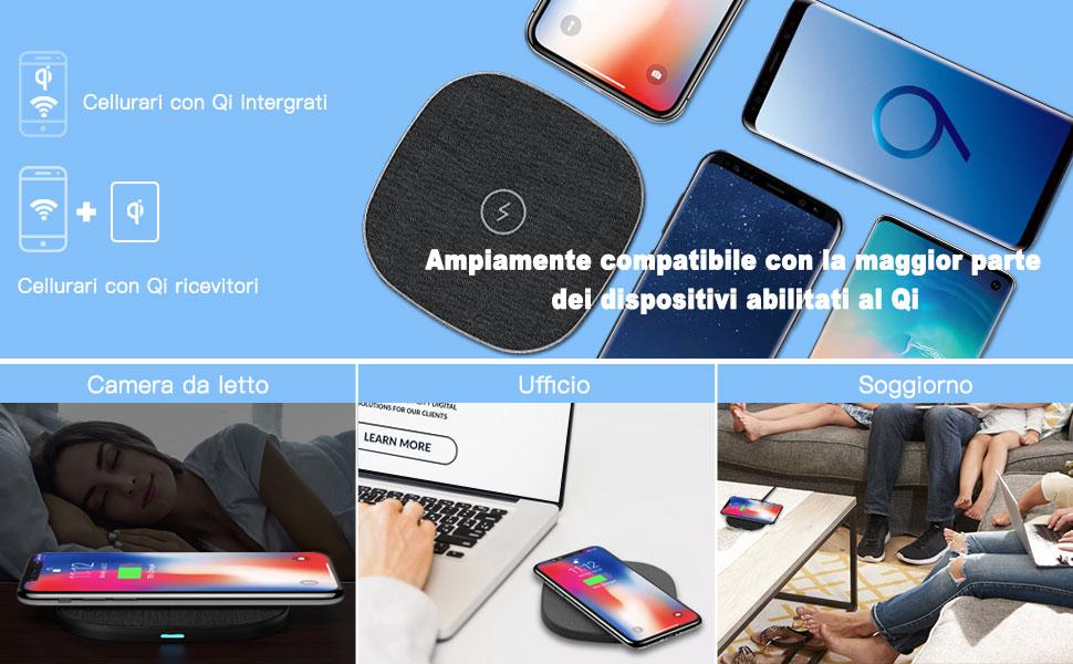 agptek-caricatore-wireless-caricabatterie-wireless