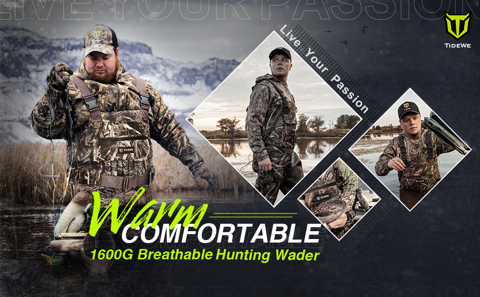 TideWe Breathable Insulated Chest Wader