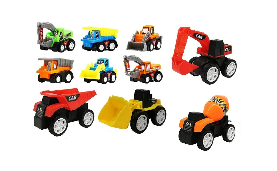 construction vehicles toys for kids, toy cars and trucks, construction toys for boys,jcb for kids