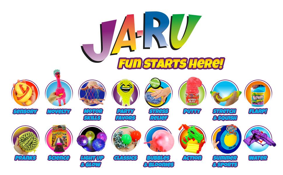 Ja-ru Toys Logo Hero Banner