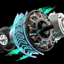 500watt rear hub motor
