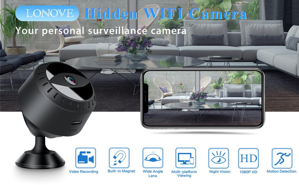 LONOVE Hidden WiFi Camera
