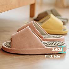massage shoes with thick sole