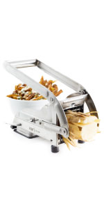 French Fry Cutter fry potato hand suction french thin thick