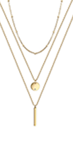 layred necklace