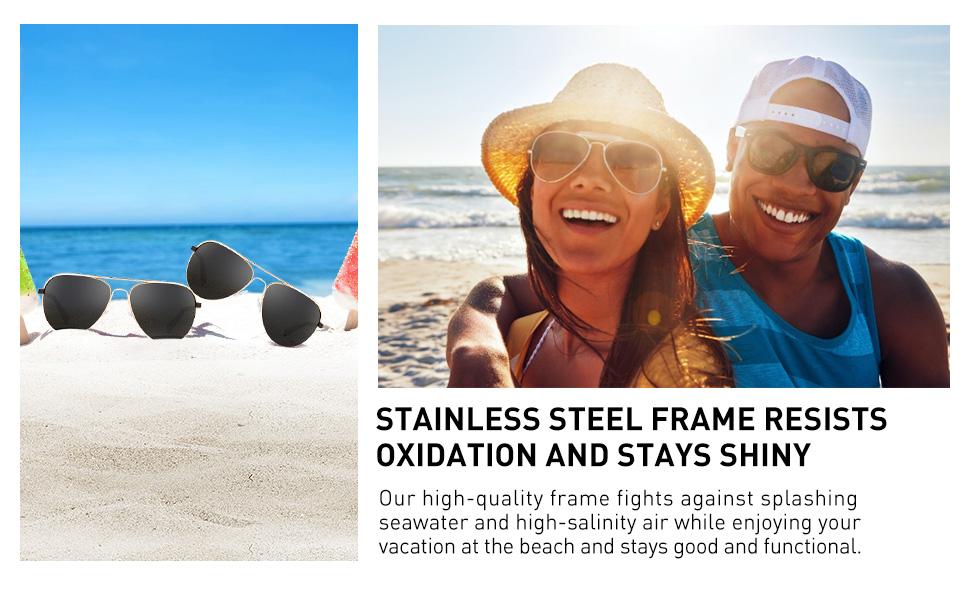 Polarized Aviator Sunglasses for Men