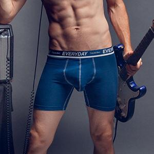 separatec colorful cotton mens underwear boxer briefs