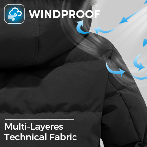 windproof thicken coat