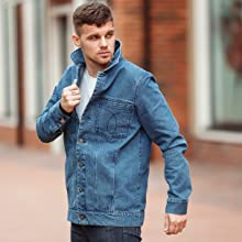 DASTI DENIM JEAN JACKET FOR MENS