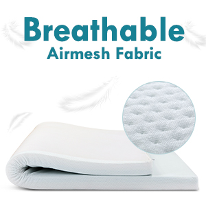Breathable fabric cover