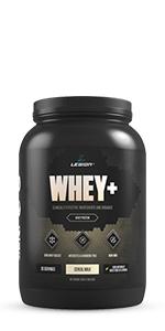 legion whey+ grass-fed whey protein isolate from ireland