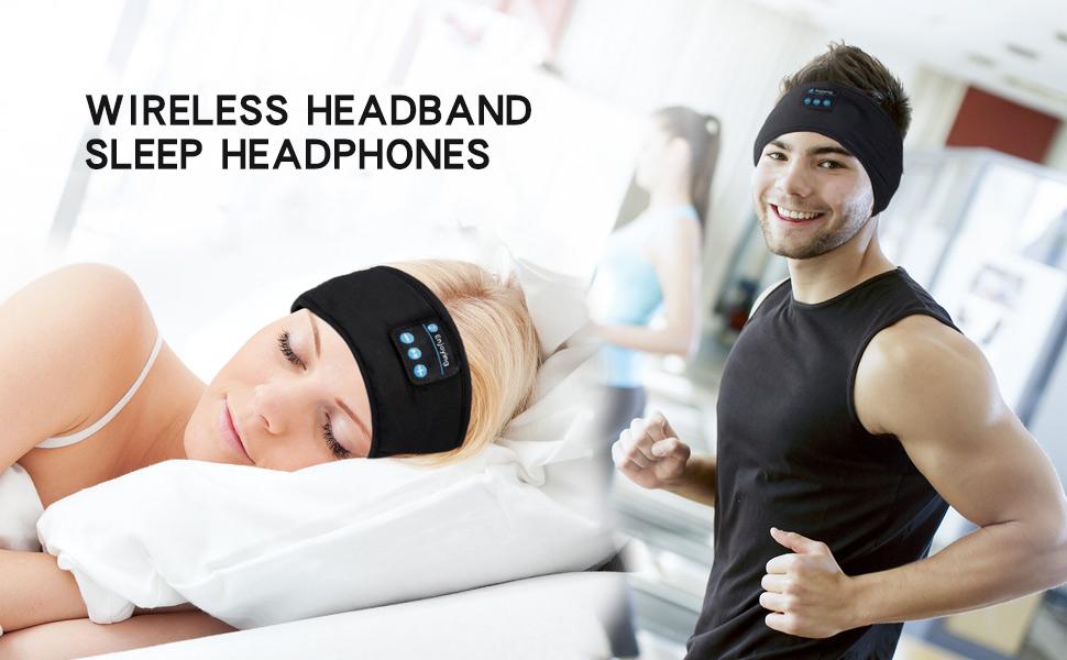 Amazon.com: Lavince Sleep Headphones Bluetooth Sports Headband ...