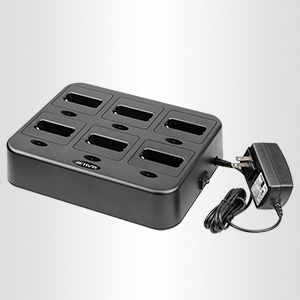 six way multi charger can charger 6 walkie talkies at the same time