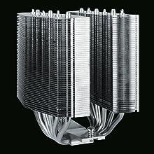 Design a doppia torre e 6 tubi di calore
