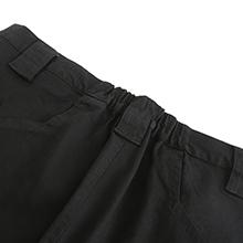 Partial elastic waist