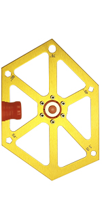 Hexagon Ruler for Table Saw