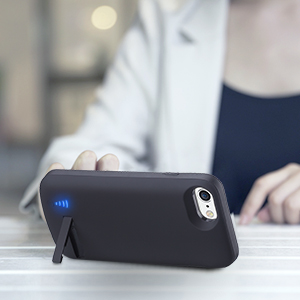 battery case for iPhone kickstand