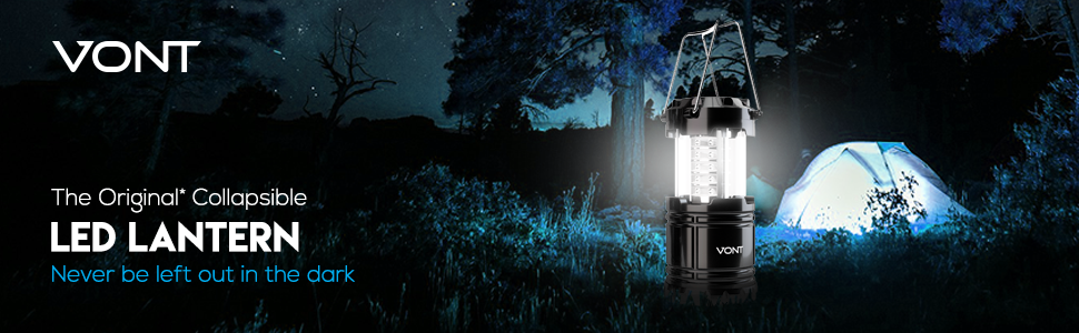 Vont Patented Collapsible LED Lantern