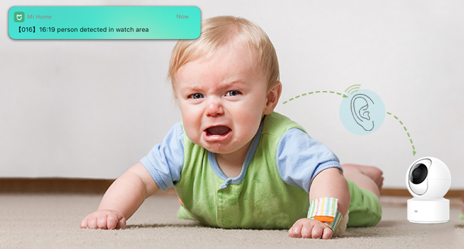 Baby Crying Detection  1080P Wireless Smart Home Indoor Baby IP Security Camera IMILAB,2.4Ghz WiFi Surveillance Dome Camera Pet Nanny Monitor with Two-Way Audio,HD Night Vision,Pan/Tilt,Remote View Support Max 256GB SD… 6cbc0562 b01b 4337 96ad f5d2eccdd9fb