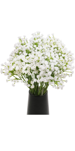Set of 2 Baby's Breath Artificial Flowers
