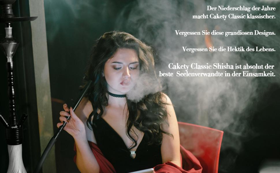 Mini Shisha mit großem Raucherlebnis