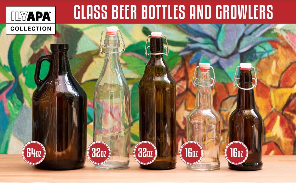 Ilyapa Glass Bottle Collection