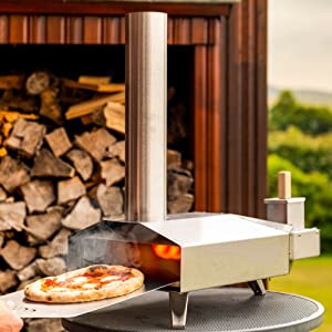 Ooni 3 Pizza Oven Outdoor Pizza Oven Pizza Maker Wood Fired Oven Award Winning Pizza Oven