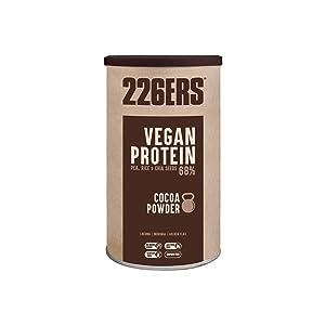 226ERS Vegan Protein | Proteína Vegana en Polvo 100% Vegetal | Arroz + Guisantes + Soja | Sin Gluten y Sin Lactosa, Frutos Rojos - 700 gr
