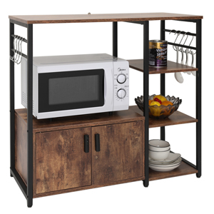 kitchen utility storage cart