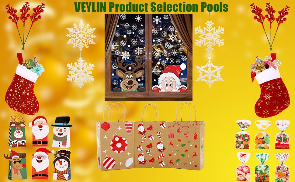 christmas jumbo gift bags