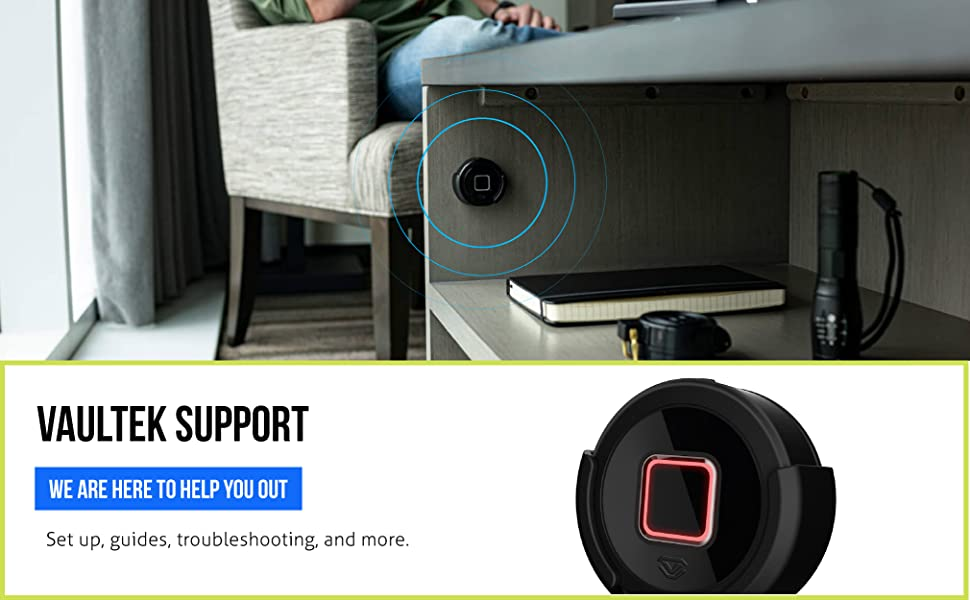 Vaultek Support